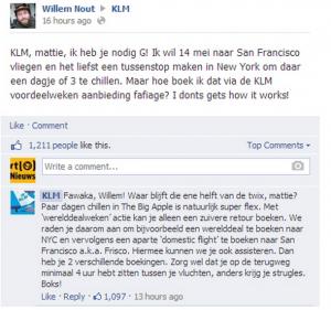 Yo, KLM help eens