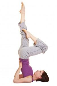 de kaars, yoga